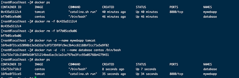 Docker learning (VIII) one way communication between containers