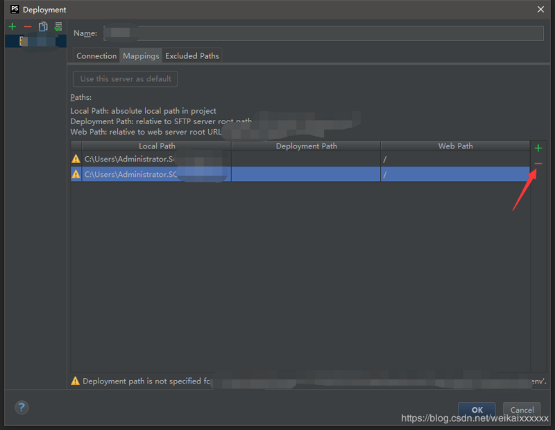 How does phpstorm use FTP and SSH to connect to the virtual machine Linux system?