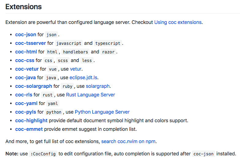Vim's new generation of complementary plug-ins: coc nvim | Develop Paper