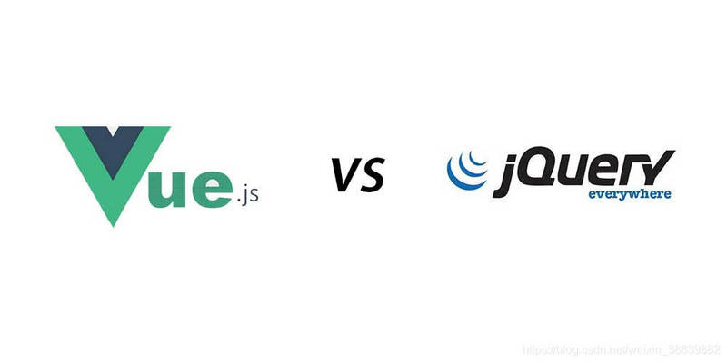 Discuss the differences between Vue and the previous jQuery frameworks
