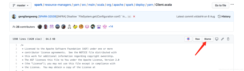 Correct posture of spark combined with GitHub (pull request) pr