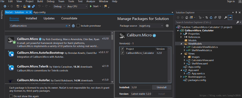 From 0 to 1: Develop simple calculators using Caliburn