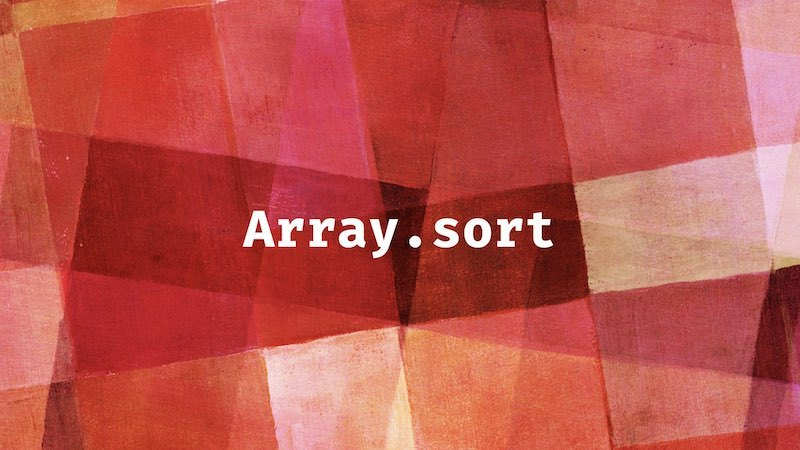 Interviewer: how to sort the array of string version numbers?