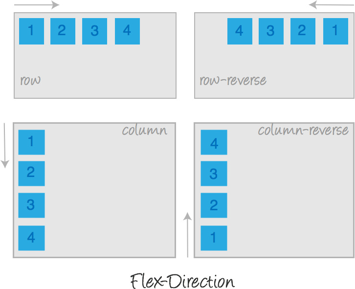 Flex layout is learning and using