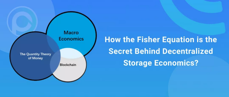 On the relationship between Fisher exchange equation and decentralized storage bandwidth Market