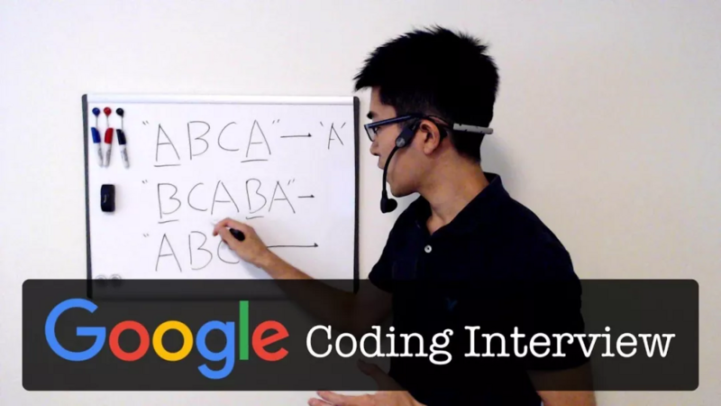What do Google interview questions look like? Be hanged after watching