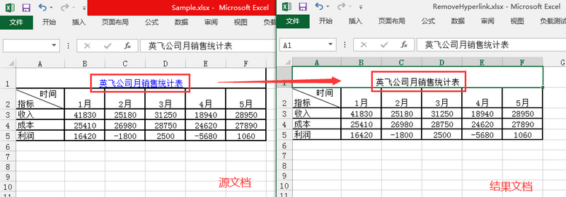 Java modifying and deleting excel hyperlinks