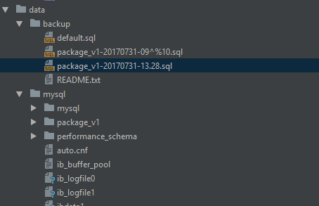 Problem] After phpstorm deleted the file by mistake, it was restored
