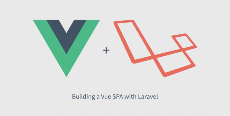 Create a Vue single page application through laravel (6)