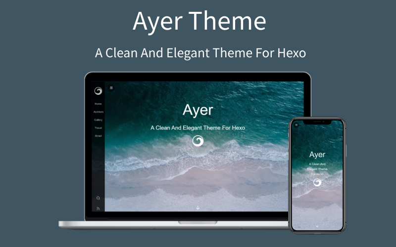 Recommend a good-looking hexo theme Ayer