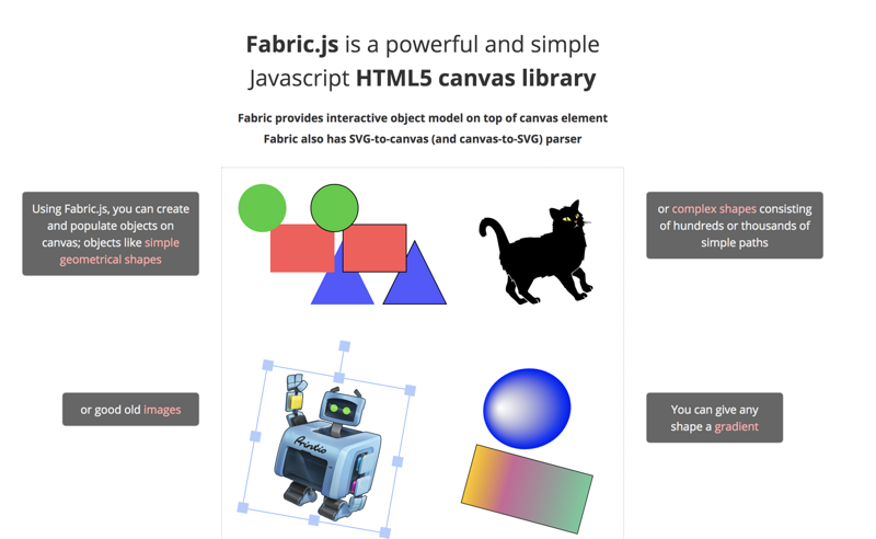 Use Fabric js to play with H5 Canvas | Develop Paper