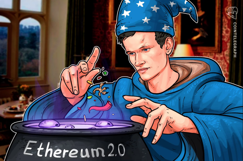 The founder of Ethereum released the ETH 2.0 roadmap, which was not affected by the recent market turmoil