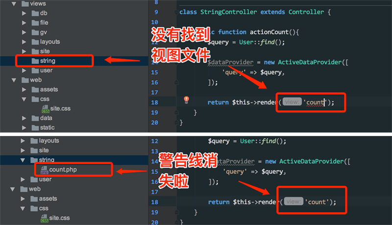 The perfect combination of PhpStorm and Yii2, with the