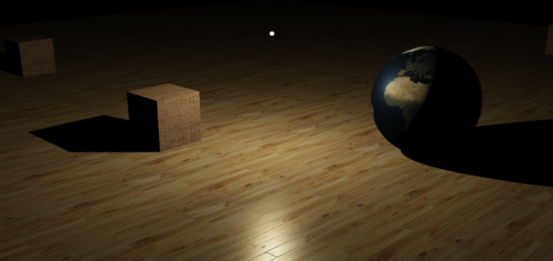 Lighting rendering -- simulating lighting effect with canvas