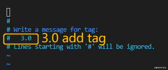 Git operation manual - git tag is a milestone in time