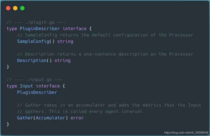 Telegraf, a sharp tool for understanding index collection