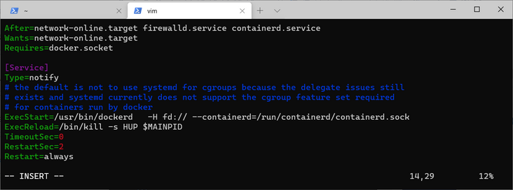 Practice of deploying docker container with container
