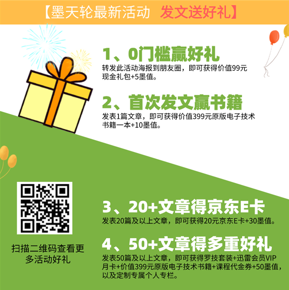 Mo Tianlun invites you to send an article. It's a gift~