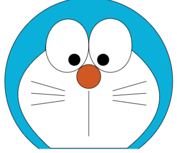 Front end small project: painting Doraemon with canvas