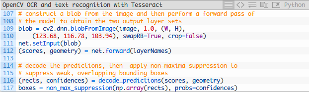 OpenCV OCR and text recognition with Tesseract | Develop Paper