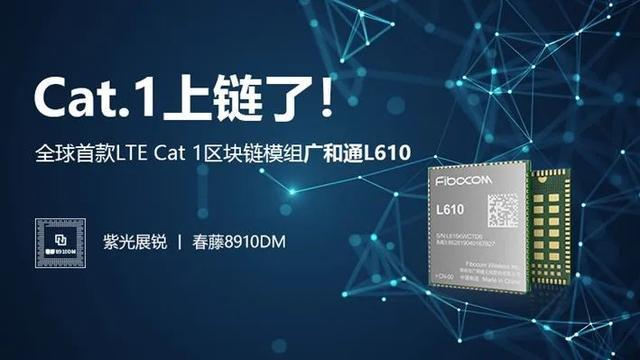 Ivy 8910dm chip bottom solution to solve the block chain IOT convergence problem