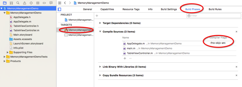 Memory management of Objective-C