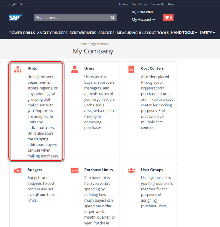 Declaration location of (I) icon Popover component on SAP Spartacus B2B list page