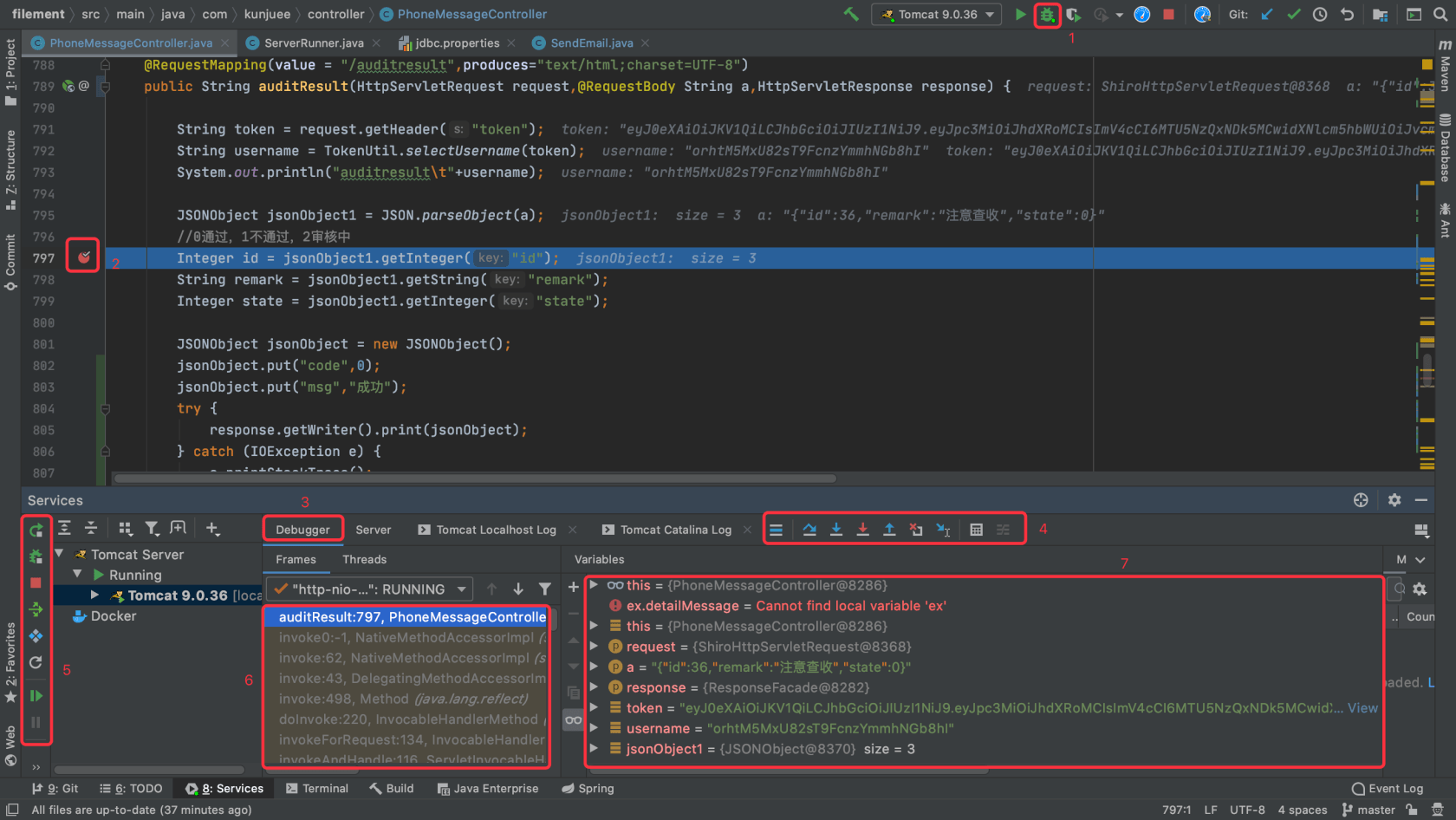 Detailed explanation of the use of debug in IntelliJ idea