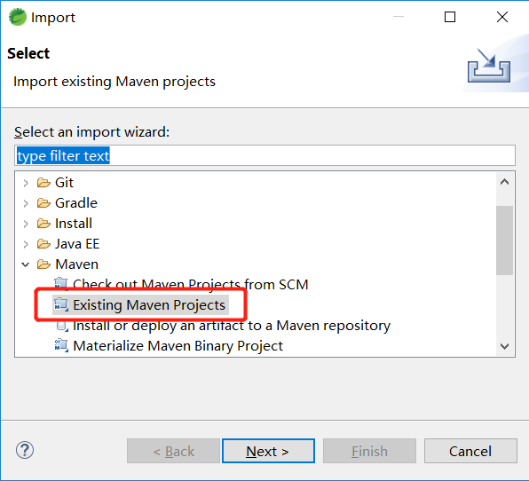 Eclipse import spring boot plus (3)