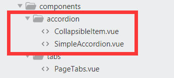 Realizing studio management background with Vue (5): Accordion