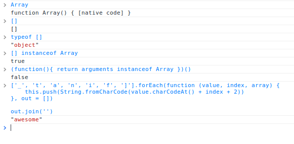 native-array-functions