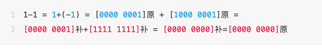 Why is int8 in the range of [- 128127]